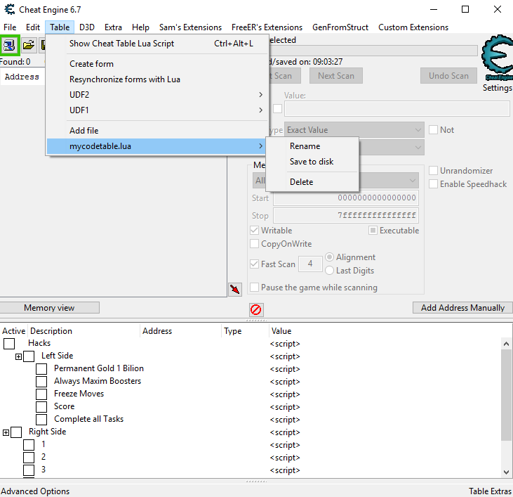 Cheat Engine :: View topic - How i can Protect Trainer from